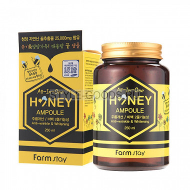 Сыворотка FarmStay Honey All-In-One Ampoule