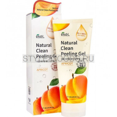 Пилинг-скатка Ekel Natural Clean Peeling Gel Apricot