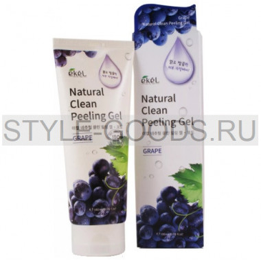Пилинг-скатка Ekel Natural Clean Peeling Gel Grape
