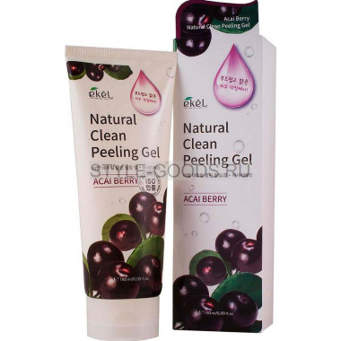 Пилинг-скатка Ekel Natural Clean Peeling Gel Acai Berry