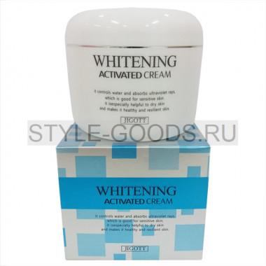 Отбеливающий крем Jigott  Whitening Activated Cream, 100 мл