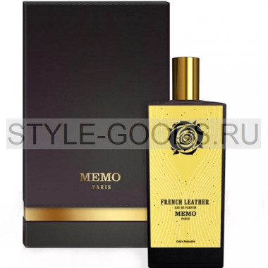Парфюм Memo French Leather (Мемо Французская Кожа), 75 мл