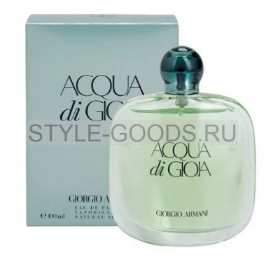 Парфюм Armani Acqua Di Gioia, 100 ml (ж) с Б/К
