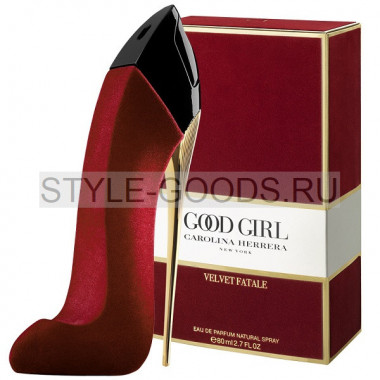 Парфюм CH Good Girl Velvet Fatale, красная (ж) с Б/К