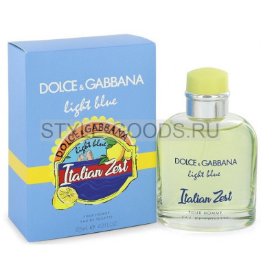 Парфюм Dolce&Gabbana Light Blue Italian Zest, 125 мл (м) с Б/К