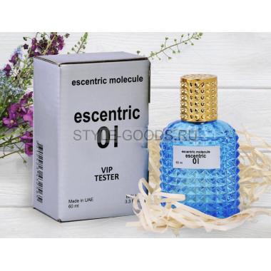 Escentric 01 - тестер духов, 60 мл (унисекс)