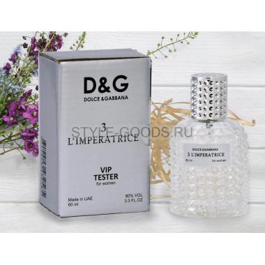 Dolce&Gabbana 3 L`Imperatrice - тестер духов, 60 мл (ж)