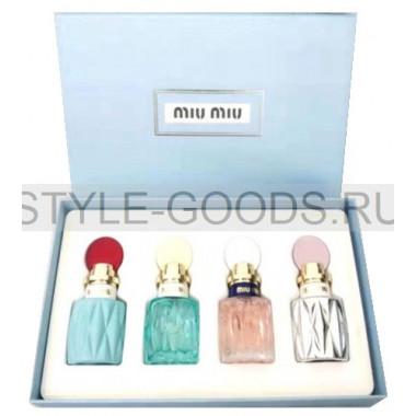 Подарочный набор парфюмерии Miu Miu Set 4*20 мл (ж)