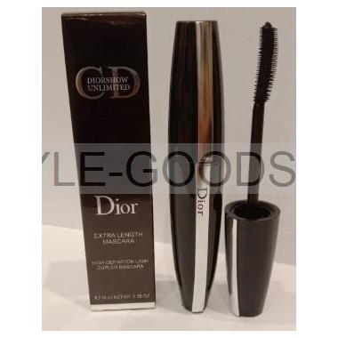 Тушь Dior Extra Length Mascara (резиновая кисточка)
