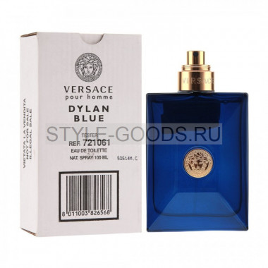 "Versace ""Dylan Blue"", 100 мл (тестер) (м)"