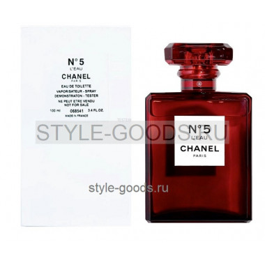 Chanel L`eau №5 RED Edition,100 мл (тестер) (ж)