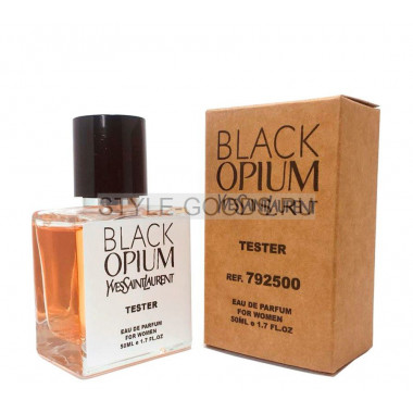 Tester YVES SAINT LAURENT BLACK OPIUM 50ml