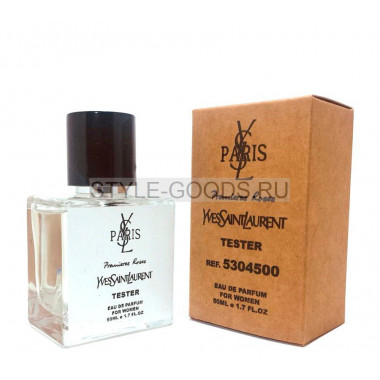 Tester YVES SAINT LAURENT Premieres Roses 50ml