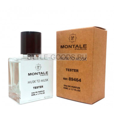 Tester MONTALE MUSK TO MUSK 50ml
