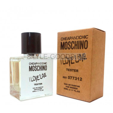 Tester MOSCHINO I LOVE LOVE 50ml