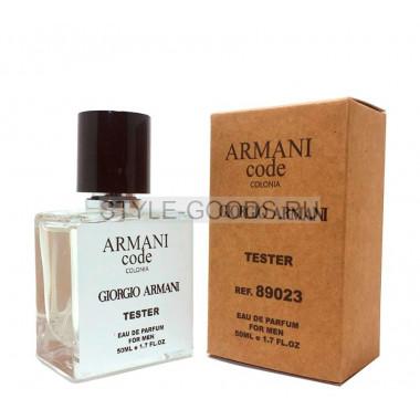 Tester GIORGIO ARMANI CODE COLONIA 50ml (м)