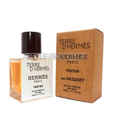 Tester HERMES TERRE D'HERMES 50ml