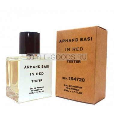 Tester ARMAND BASI IN RED 50ml (ж)