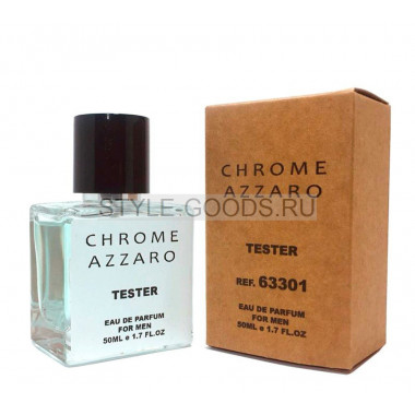 Tester AZZARO CHROME MEN 50ml (м)