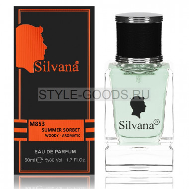 Парфюм Silvana 853 - Givenchy Summer Sorbet 50ml (м)