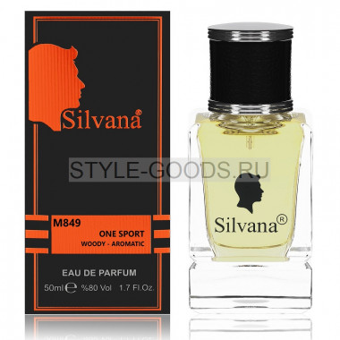 Парфюм Silvana 849 - D&G The One Sport 50ml (м)