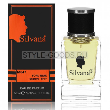 Парфюм Silvana 847 - Tom Ford Noir 50ml (м)