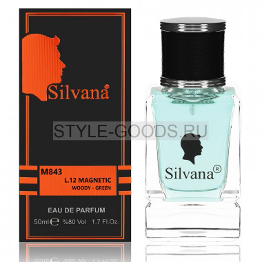 Парфюм Silvana 843 - Lacoste L.12.12 Magnetic 50ml (м)