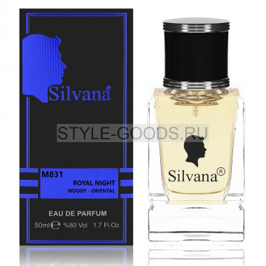 Парфюм Silvana 831 - D&G The One Royal Night 50ml (м)