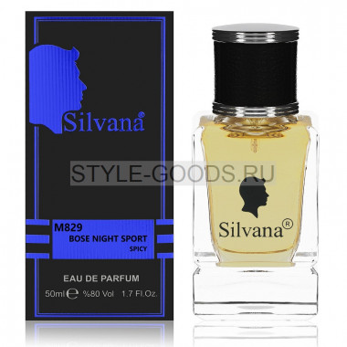 Парфюм Silvana 829 - Boss Bottled Night Sport 50ml (м)