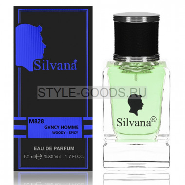 Парфюм Silvana 828 - Givenchy Pour Homme 50ml (м)