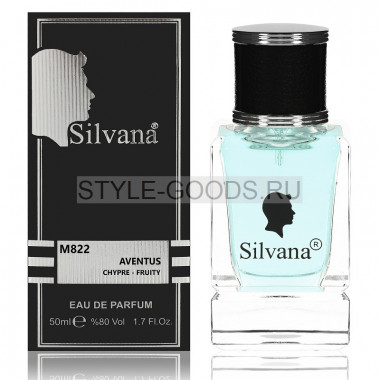 Парфюм Silvana 822 - Creed Aventus 50ml (м)