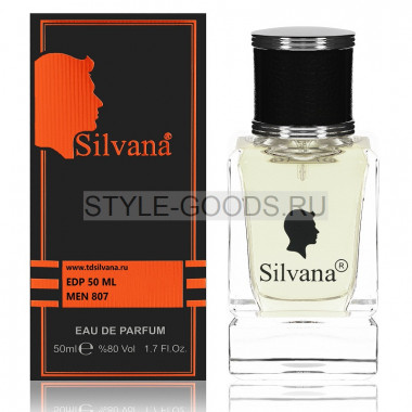 Парфюм Silvana 807 - Lacoste L.12.12 Blanc 50ml (м)