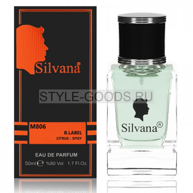 Парфюм Silvana 806 - Givenchy Blue Label 50ml (м)