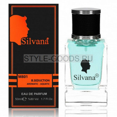Парфюм Silvana 801 - Banderas Blue Seduction 50ml (м)