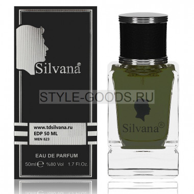 Парфюм Silvana 823 - Black Afgano 50ml (унисекс)