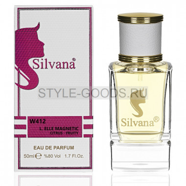 Парфюм Silvana 412 - Lacoste Magnetic 50ml (ж)