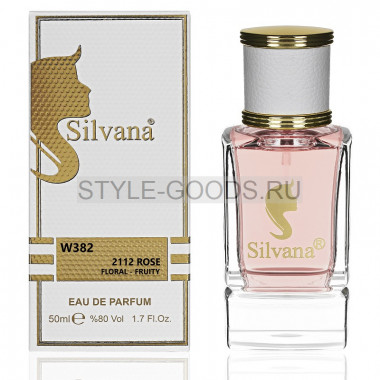 Парфюм Silvana 382 - CH 212 VIP Rose 50ml (ж)