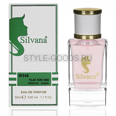 Парфюм Silvana 348 - Givenchy Play 50ml (ж)