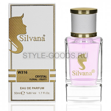 Парфюм Silvana 316 - Versace Bright Crystal 50ml (ж)