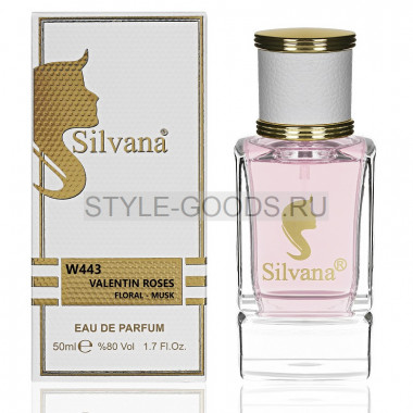 Парфюм Silvana 443 - Valentino Rock`n Rose 50ml (ж)