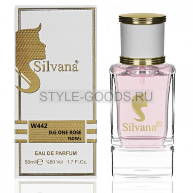 Парфюм Silvana 442 - D&G Rose The One 50ml (ж)
