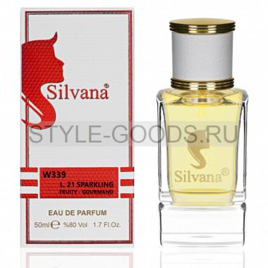 Парфюм Silvana 339 - Lacoste Sparkling 50ml (ж)