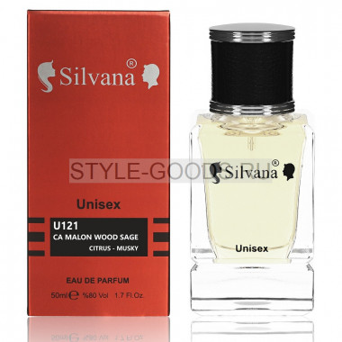 Парфюм Silvana 121 - Wood Sage & Sea Salt J. M. 50ml (унисекс)