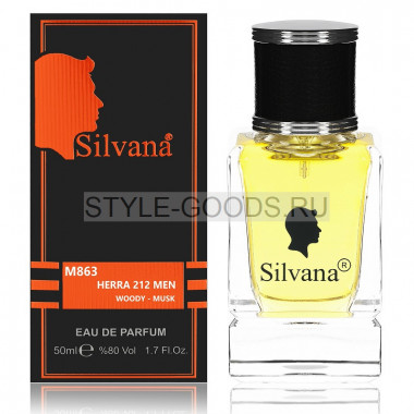 Парфюм Silvana 863 - CH 212 Men 50ml (м)