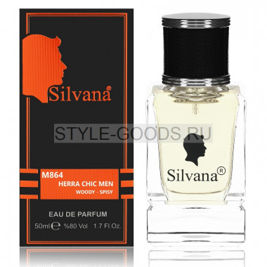 Парфюм Silvana 864 - CH Chic Men 50ml (м)
