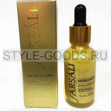 Сыворотка Farsali 24k Gold Elixir, 30 ml