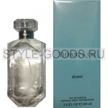 Tiffany & Co. Sheer eau de parfum, 100 ml (ж)