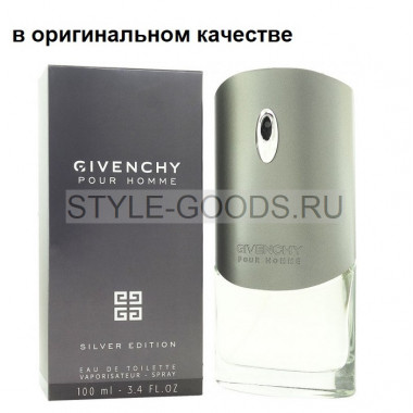 Парфюм Givenchy Silver Edition, 100 мл (м) с Б/К