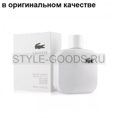 Парфюм Lacoste L.12.12 Blanc, 100 мл (м) с Б/К