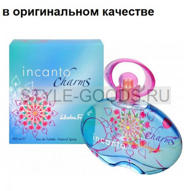 Парфюм Salvatore Ferragamo Incanto Charms,100мл(ж) с Б/К